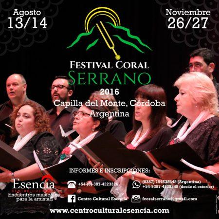 Festival Coral Serrano