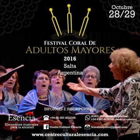 Festival Corral de Adultos Mayores