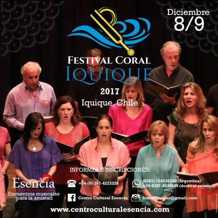 Festival Coral Iquique